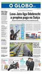 25 de Julho de 2015, Primeira Página, página 1