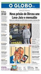 04 de Agosto de 2015, Primeira Página, página 1