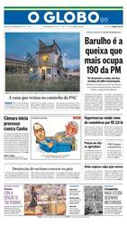03 de Novembro de 2015, Primeira Página, página 1