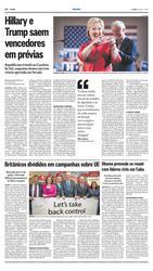 21 de Fevereiro de 2016, O Mundo, página 32