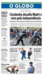 02 de Outubro de 2017, Primeira Pagina, página 1