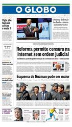 06 de Outubro de 2017, Primeira Pagina, página 1