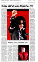 26 de Junho de 2009, O Mundo, página 30