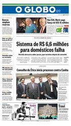 04 de Novembro de 2015, Primeira Página, página 1