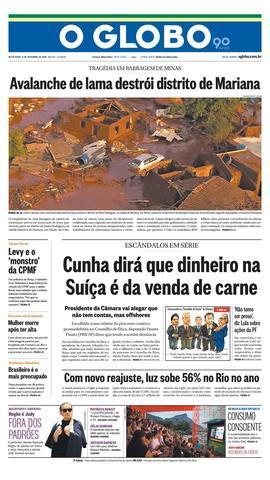 Página 1 - Edição de 06 de Novembro de 2015