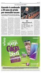 17 de Dezembro de 2015, O País, página 13