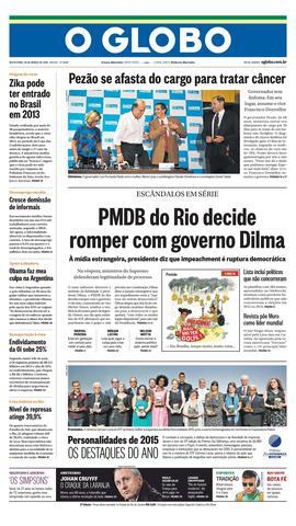 Página 1 - Edição de 25 de Março de 2016