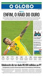 21 de Agosto de 2016, Primeira Página, página 1