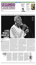 30 de Janeiro de 2017, Segundo Caderno, página 1