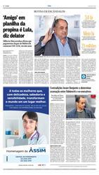 08 de Março de 2017, O País, página 4