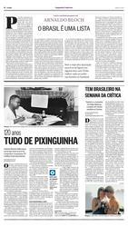 22 de Abril de 2017, Segundo Caderno, página 8