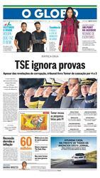 10 de Junho de 2017, Primeira Página, página 1