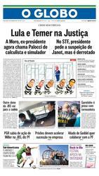 14 de Setembro de 2017, Primeira Pagina, página 1